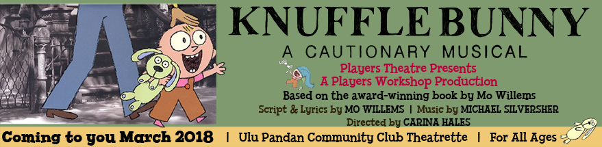 Players Theatre & Players Workshop presents Knuffle Bunny: A Cautionary Musical